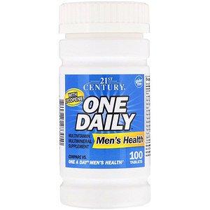 21st Century, One Daily для мужского здоровья, 100 таб