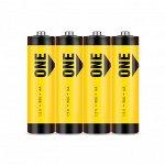 Батарейка солевая Smartbuy ONE R6/4S (60/600)  (SOBZ-2A04S-Eco)