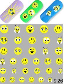 Модный маникюр  MILV — Слайдер дизайн(S) — Дизайн ногтей