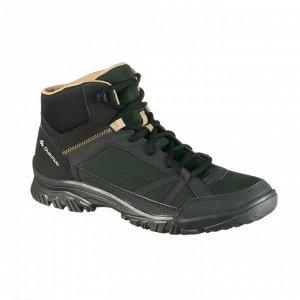 Ботинки мужские для походов NH100 mid QUECHUA