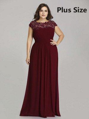 Элегантное платье бордового цвета