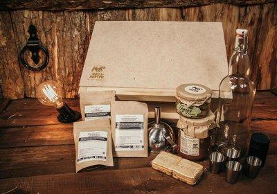 🌲ТайгаВнутри. Мед, сиропы - шиповник, чага, облепиха и пр. — Подарочные наборы — Продукты питания