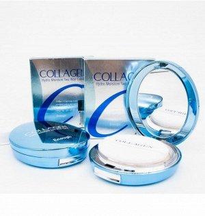 Увлажняющая пудра с коллагеном +запаска Enough Collagen Hydro Moisture Two Way Cake SPF 25, 13g + 13g