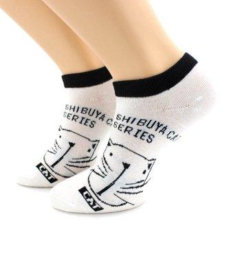 Уютная одежда: колготки до 600ден, носки, перчатки для всех  — Носки женские укороченные — Носки
