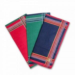 Женские носовые платки, 12 шт., 100% х/б