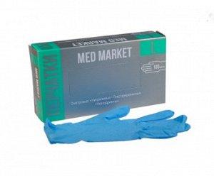 Перчатки нитриловые «Med Market»