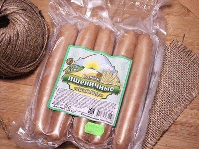 """Постные веганские колбасы и сосиски. НОВИНКИ! .- 26 — Сосиски пшеничные """"Высший вкус"""""""