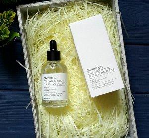 Сыворотка для лица с коллагеном 90%, Graymelin Collagen 90% Perfect Ampoule, 50 мл (СТЕКЛО), ,