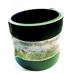 Бордюрная  лента  прямая 9м х 30см зеленая Д.М.