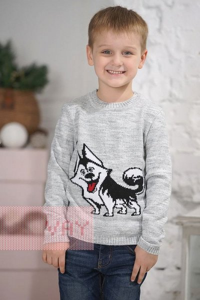Школа-NEWVAY-Качественный Вязаный трикотаж для всей семьи — Веснушки (3-7 лет)