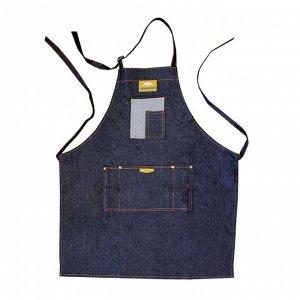 Фартук джинсовый синий