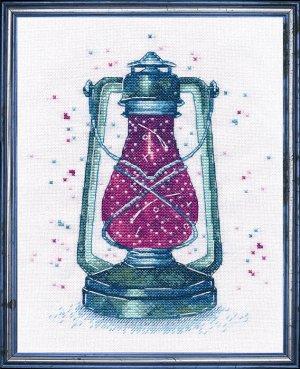 """Набор для вышивания крестиком """"загадочный свет"""""""