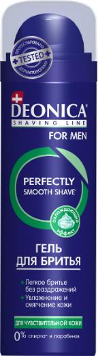 Гель д/бритья DEONICA FOR MEN 200мл Д/чувствительной кожи