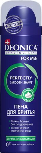 Пена д/бритья DEONICA FOR MEN 240мл Д/чувствительной кожи