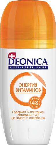 Део ролик DEONIKA 50мл Энергия витаминов