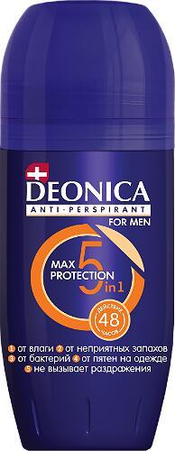 Део ролик DEONIKA 50мл 5Protection for men