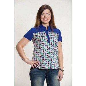 Блуза Блуза  женская. состав вискоза вискоза-20% полиэстер полиэстер-80% В размер.