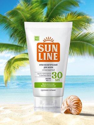 ЦА Крым Безсульфатные шампуни💖+эфирные масла! — Солнцезащитная серия SunLine — Для тела