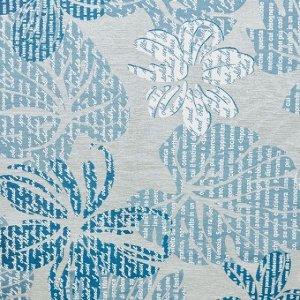 Ткань для обивки мебели STORY list blue