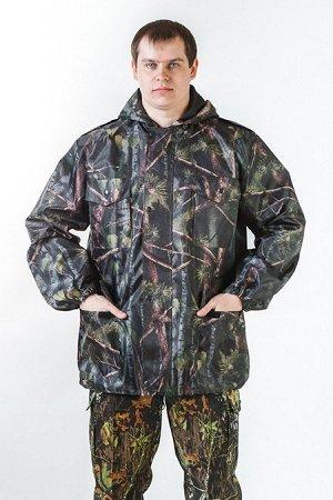 Ветровка Ткань: «Оксфорд» (100% полиэфир) плотность 210 г. / м2. Подкладка: 100% нейлон.Куртка ветрозащитная камуфляж - ветровка с застежкой на молнию и ветрозащитным пластроном на клепках, притачным