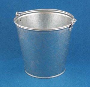 Ведро Ведро  7,0л б/к оцинк. ТУ д/хранения,переноски сыпучих,кусковых,пастообразных материалов