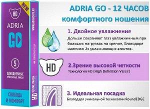 Однодневные контактные линзы AdriaGo (5 линз)