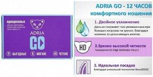 Однодневные контактные линзы AdriaGo (90 линз)