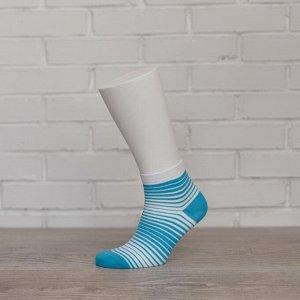 W1P1, бирюза/белый носки