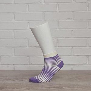 W1P1,сирень/кремовый носки