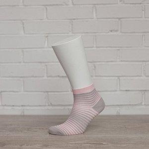 W1P1, св.серый/розовый носки