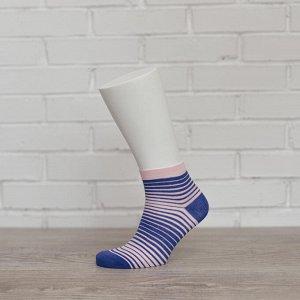 W1P1, василек/розовый носки