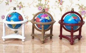 Глобус Размер 5.3х4cmх4cm. Нумерацию ведем слева направо.