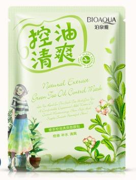Освежающая тканевая маска с маслом чайного дерева