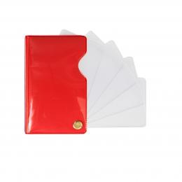 Обложка для каждой страницы паспорта. Папки для документов — ВИЗИТНИЦЫ , ДЕРЖАТЕЛИ КАРТ и БЭЙДЖИ — Офисная канцелярия