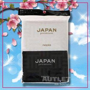 """""""NEPIA"""" """"JAPAN premium"""" Бумажные двухслойные носовые платки 10 шт./уп., (упаковка 6 шт.)"""