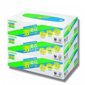 """""""NEPIA"""" Кухонные бумажные полотенца 75 листов, (спайка 3 пачки)"""