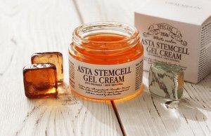 Крем для лица желеобразный с астаксантином GRAYMELIN Astaxanthin Stemcell Cream 50 мл. (СТЕКЛО), ,