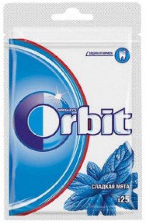 Жевательная резинка Orbit Сладкая Мята 25 драже пакет