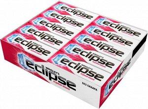 "Eclipse ""Ледяная вишня"" жевательная резинка без сахара, 30 пачек по 13,6 г"