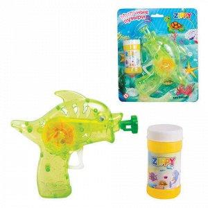 """Мыльные пузыри ZIPPY, 55 мл, с игрушкой """"Пистолет"""", 590608"""