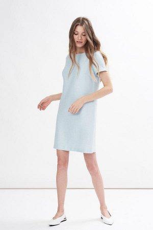 Платье Цвет: мятный   53%акрил 38%полиэстер 9%вискоза