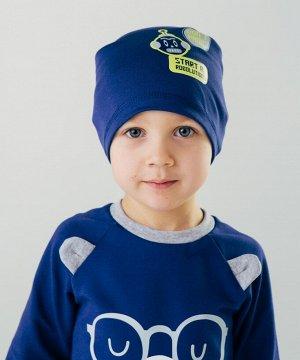 Синий Шапка для мальчиков
