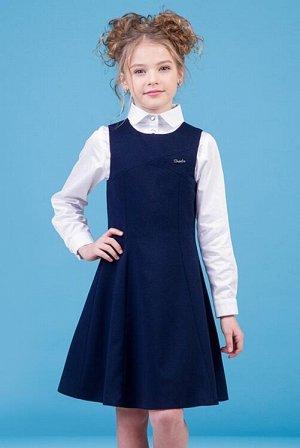 Сарафан для девочки   синий CLASSIC GIRL