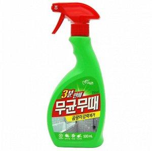 """Чистящее средство """"BISOL"""" для ванной от ПЛЕСЕНИ (с ароматом трав) пульверизатор  500 мл / 12"""