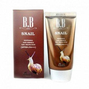 Ekel Snail BB Cream с улиточным фильтратом