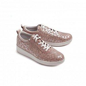 Туфли летние женские, розовый