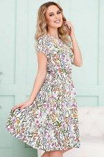 Платье Милена Полевые цветы (П-42-7)
