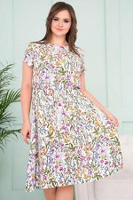 Платье Милена Полевые цветы (Пб-42-7)