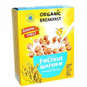 """Сухой завтрак """"Рисовые шарики"""" Компас здоровья"""