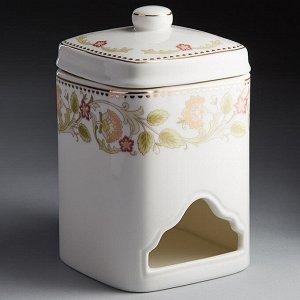 """Банка для чайных пакетиков 8х13см МН073Q """"Оливия"""""""